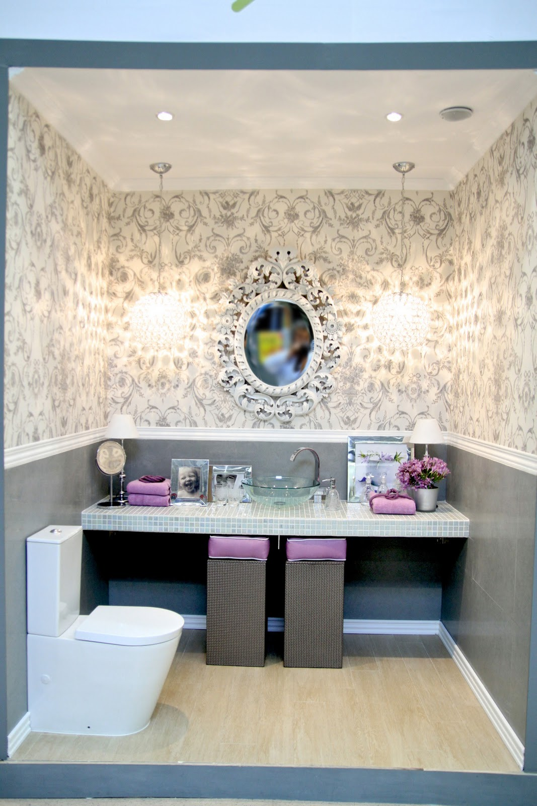 Celebrity Homes: Bathroom Projects by Ana Antunes at Leroy Merlin 5/6 #806C4B 1067x1600 Acessorios Banheiro Leroy Merlin