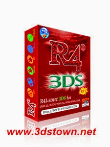 Red R4i SDHC 3DS RTS