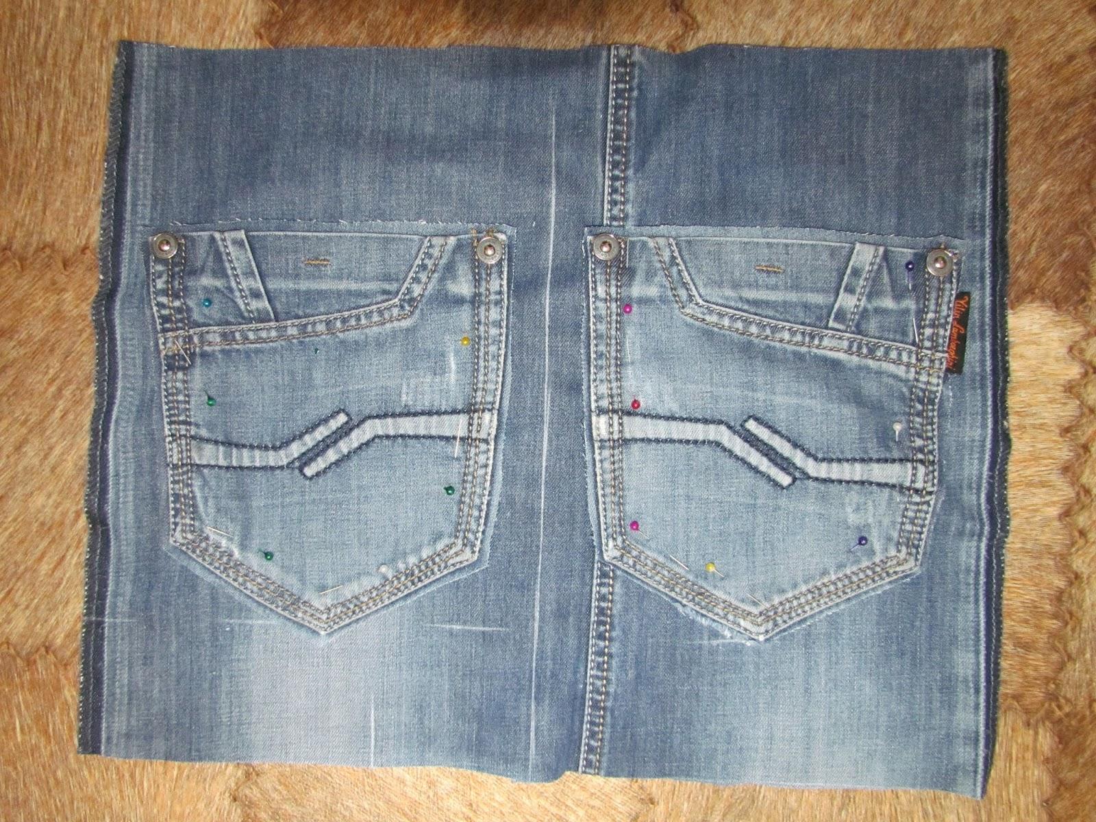 Как просто сшить рюкзак из старых джинсов выкройки
