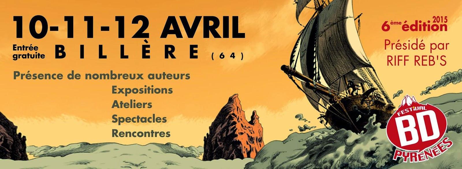 Écume de bulles sur les Pyrénées après le festival BD 2015