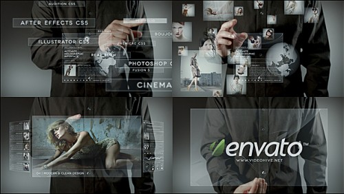 Holographic touch (Project 4 After Effects VideoHive Templates ...