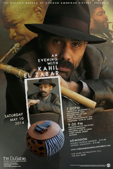 DuSable Museum Presents An Evening with Jazz Great Kahil EL Zabar