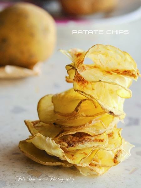 Patate chips light