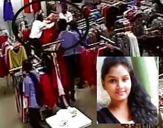 Youth tries to kill himself thinking that lover at Wattala shop would belong to another (CCTV)