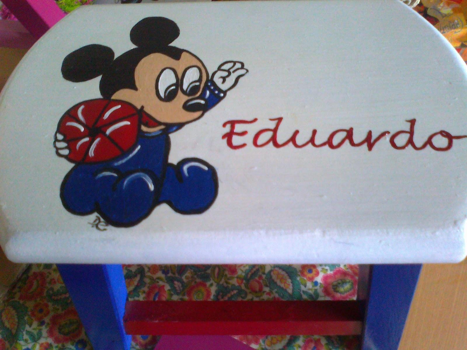 CD ARTESANATO: bancos de madeira pintados a mao #1B2A68 1600x1200