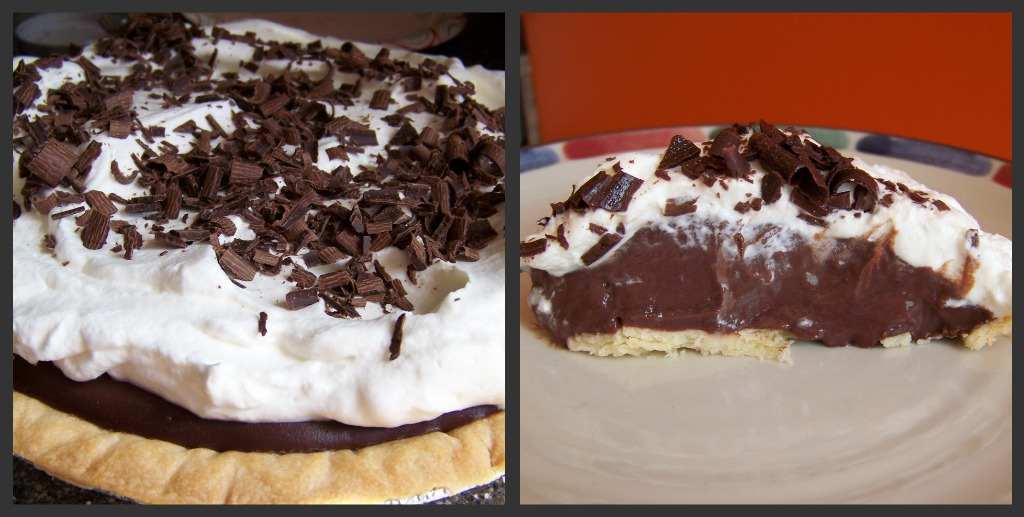 Baking and Beading: Chocolate Pudding Pie