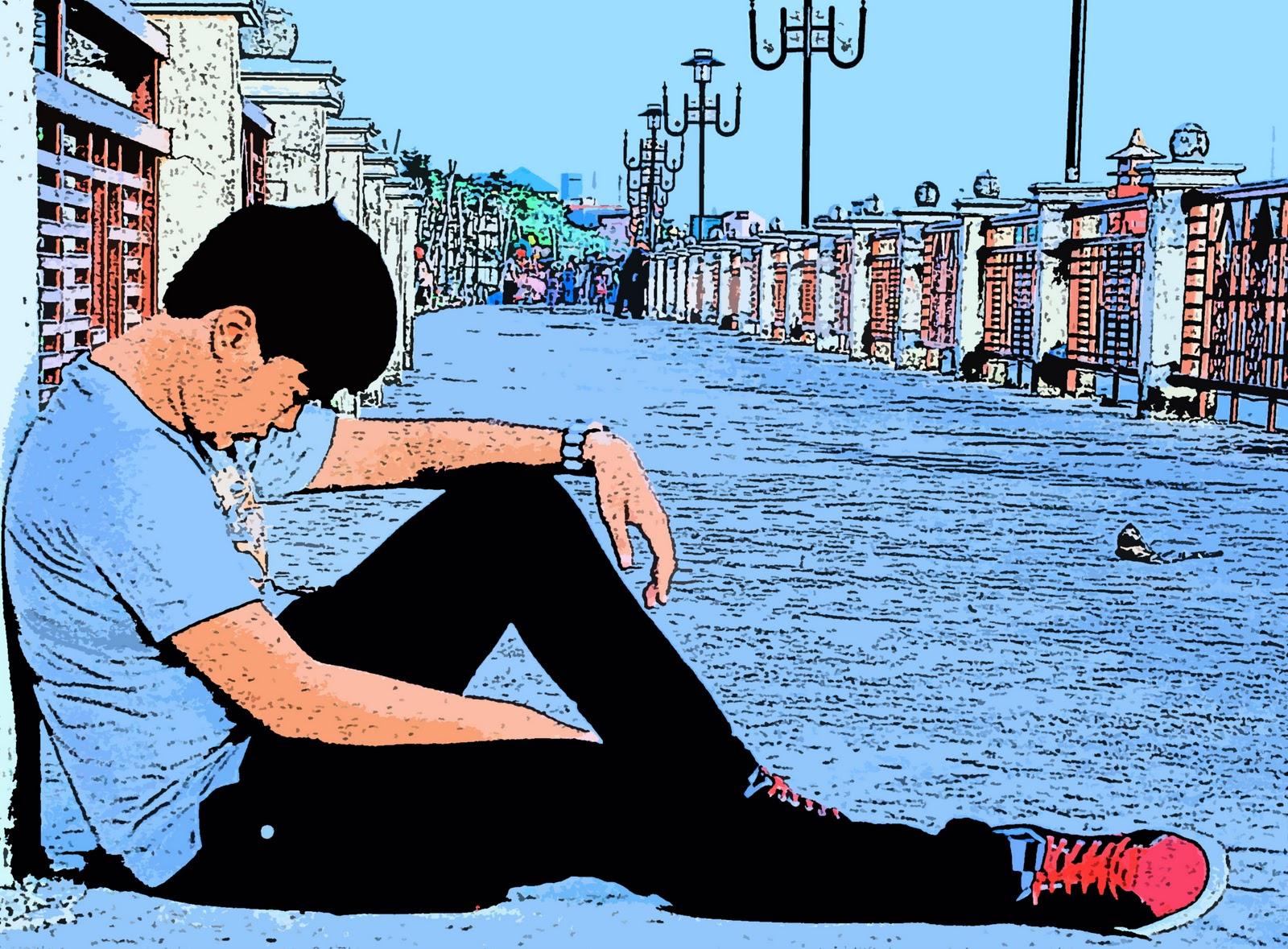 Cartoon ii &; lukisan pensil **