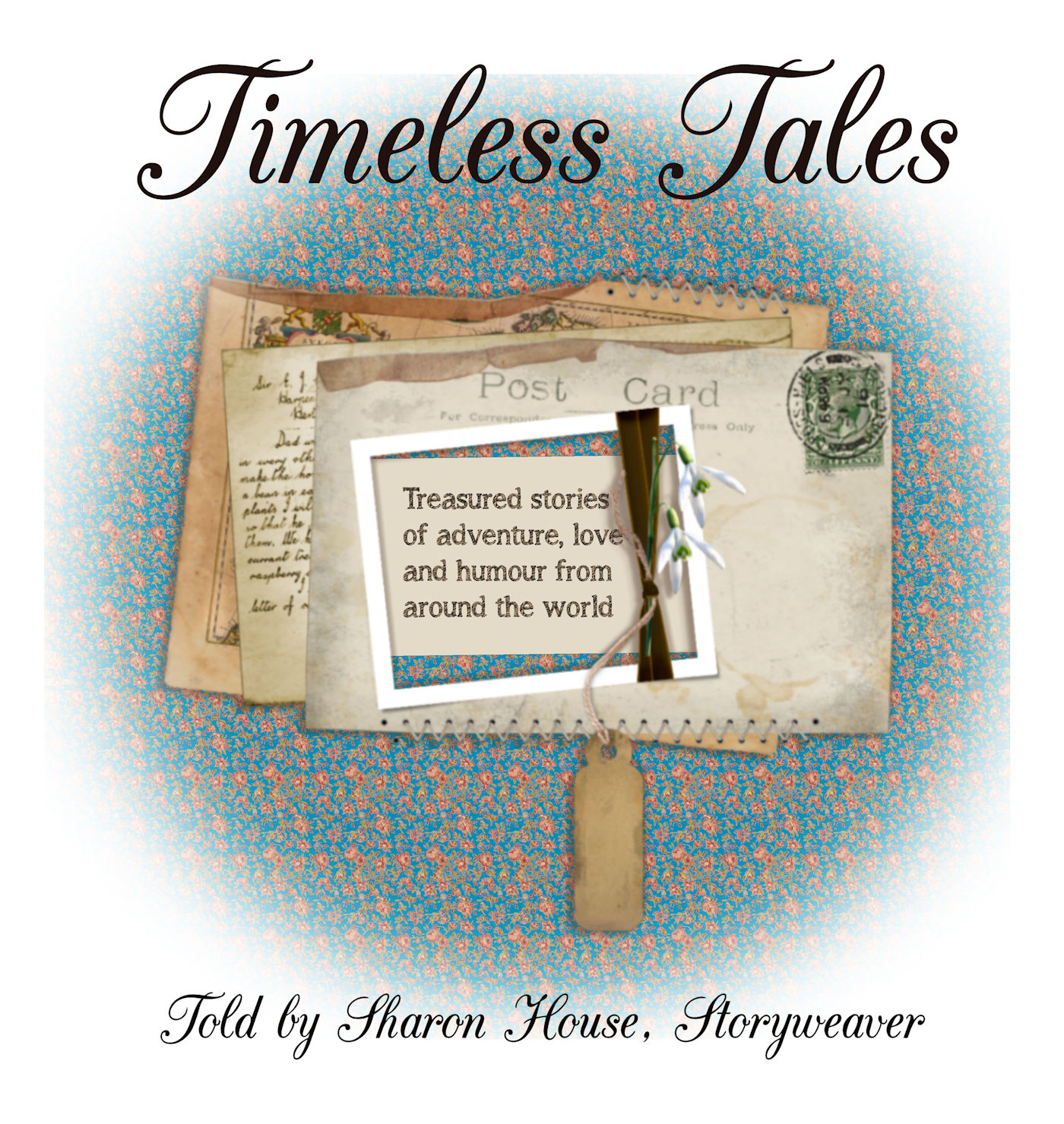 Listen to a FREE preview of my stories & tales at CDBaby
