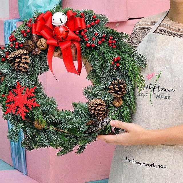 Основы для рождественских венков 33