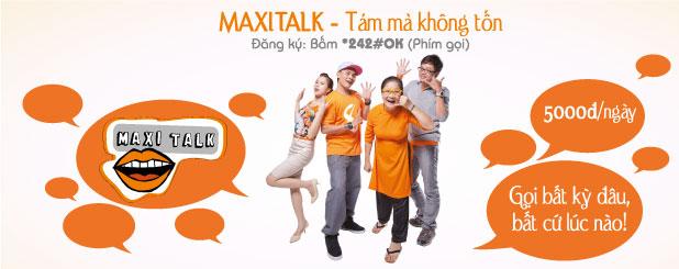 Đăng ký Maxi Talk gọi nội mạng Vietnamobile 6 tiếng/ngày
