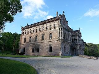 Palau de Sobrellano. Comillas