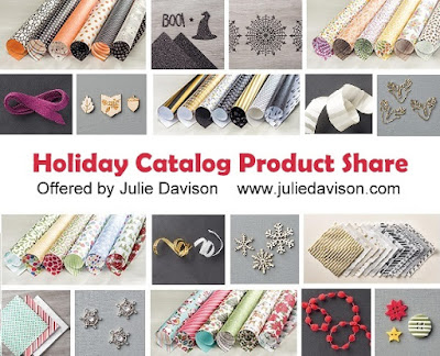 Stampin' Up! Holiday Catalog Product Share offered by Julie Davison www.juliedavison.com