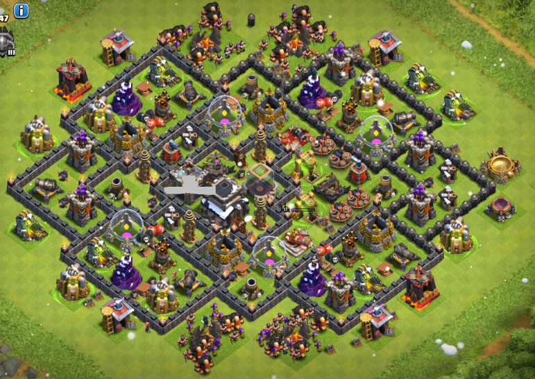 Best 19 updated farming layouts for town hall 9 with dark elixir
