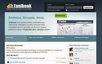 Les réseaux sociaux pour animaux de compagnie avec Zanibook