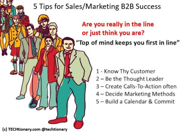 5 cara sukses dalam B2B marketing