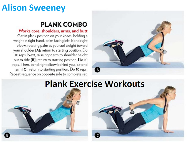 Plank Combo Exercise Variations