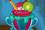 Dondurma Dekorasyonu Oyunu