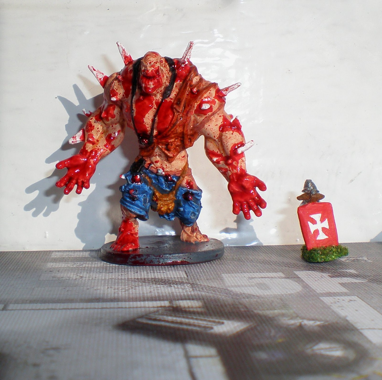 zombicide   zombicide  painted abomination