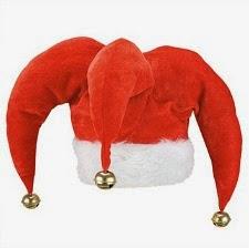 Santa Jester Hat