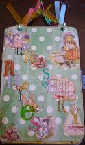 Nursery Rhyme Board Book for my Granddaughters