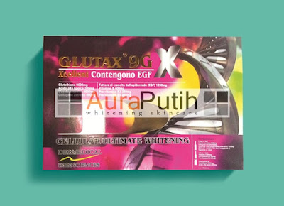 Glutax 9GX Xcellent Contengono EGF, Glutax 9GX Asli, Glutax 9GX original, Glutax 9GX Harga Murah, Glutax 9GX Whitening Injection