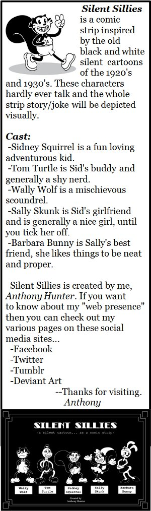 Welcome To Silent Sillies!