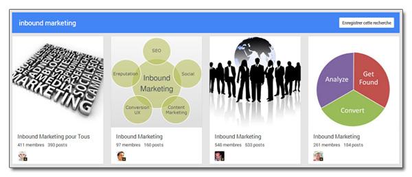 Communautés Google+
