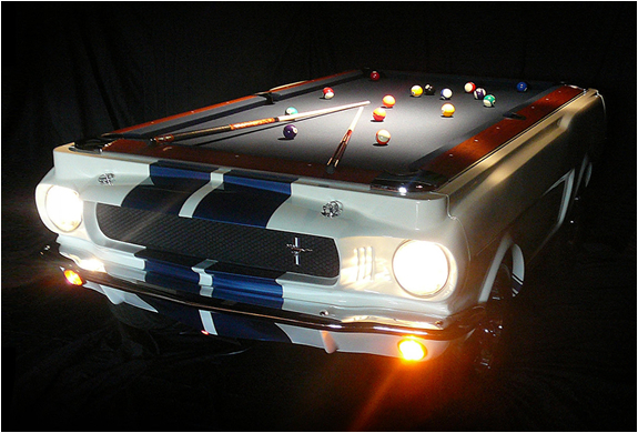1965 Shelby GT-350 Pool Table | Car Pool Tables | 1965 Shelby GT-350 | 1965 Shelby GT-350 Pool Table price
