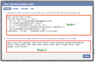 Kode HTML Untuk Fan Page Facebook