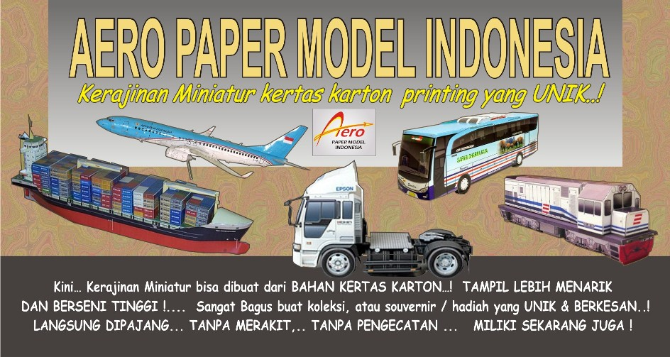 Aero Paper Model Indonesia..