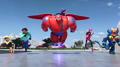 Big Hero 6 (Movie) - NYCC Trailer - Song / Music