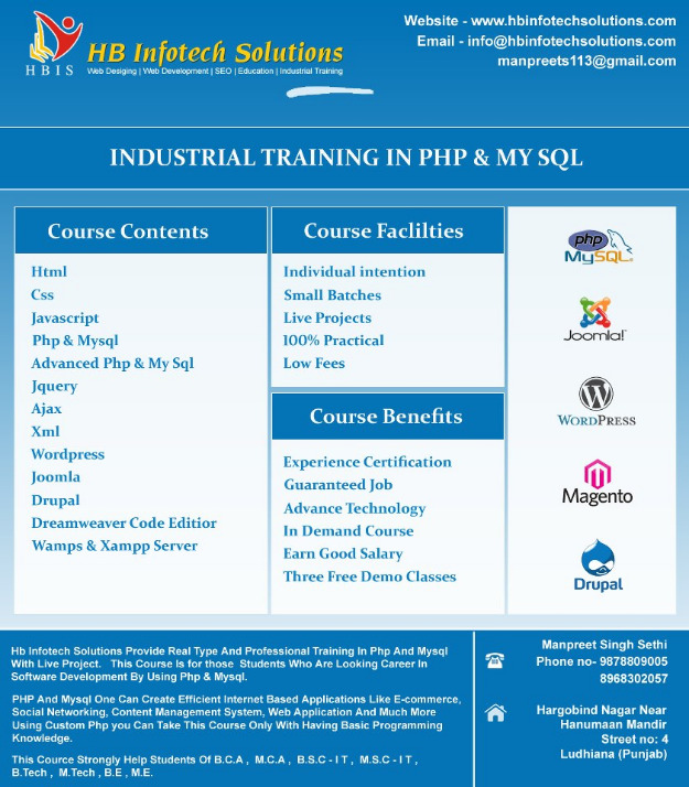 cours complet php mysql pdf