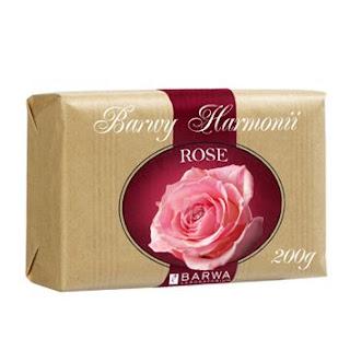BARWY HARMONII - naprawdę różane mydło!