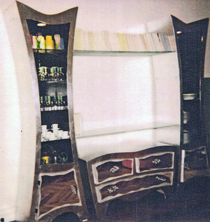 biblioth que meuble contemporain library contemporary. Black Bedroom Furniture Sets. Home Design Ideas