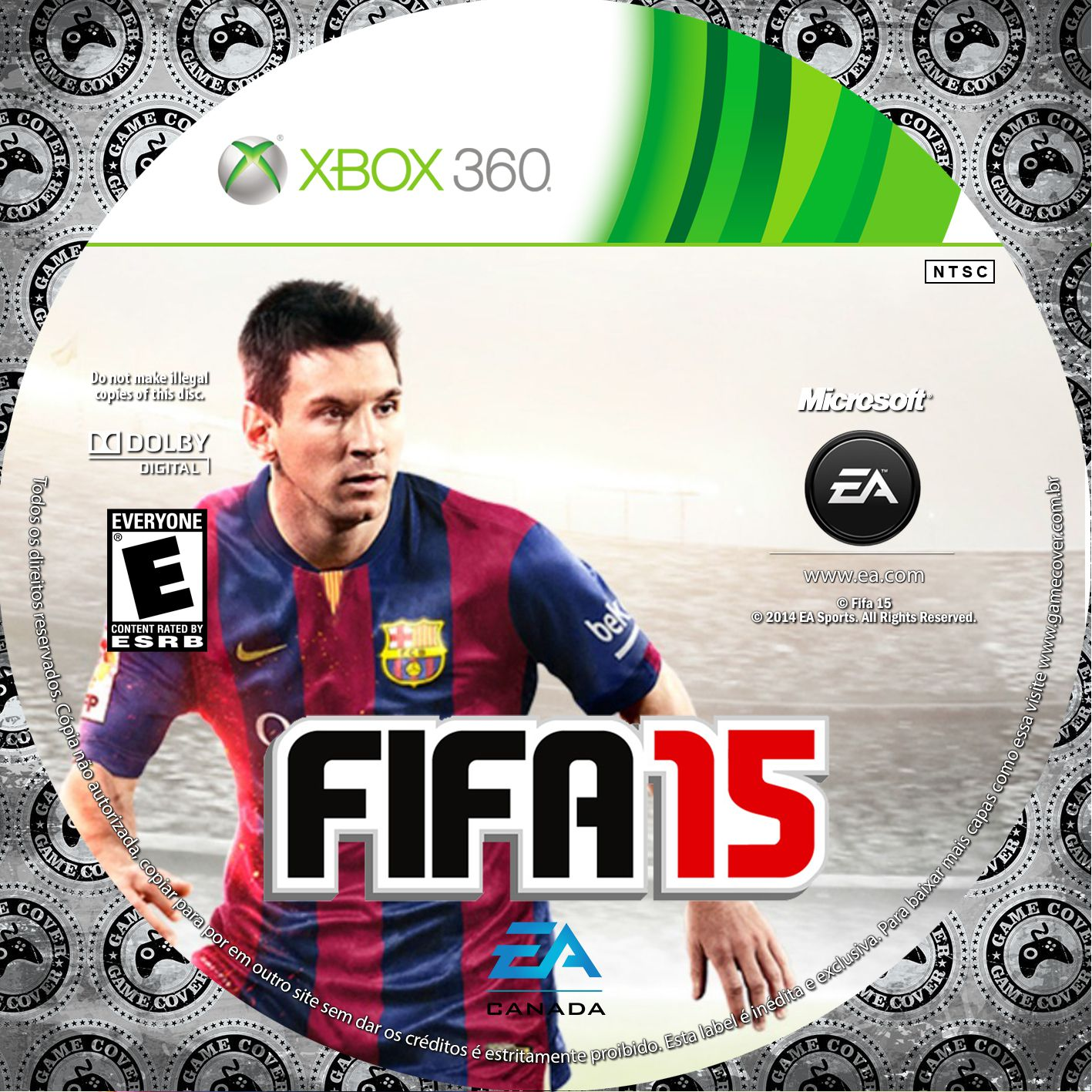 Label Fifa 15 Xbox 360 [Exclusiva]