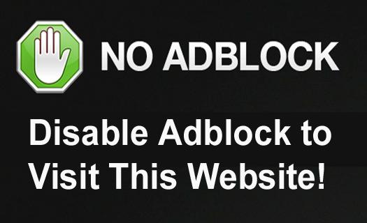 Disable Adblock for Blogger