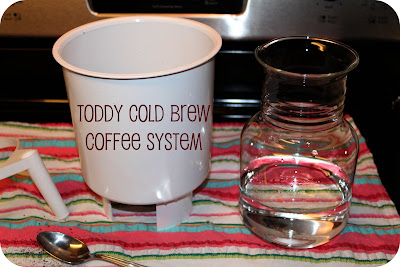 cold brew coffee toddy instructions