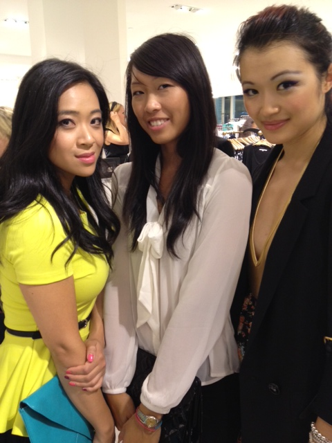 Rachel Roy event with Vonnie and Kerri, vancouver, bloggers