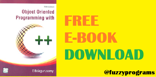 E Balaguruswamy C Book Pdf Free Download