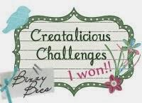 1.Platz bei Creatalicious-Challenge