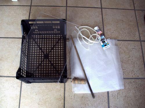 Orticino miniserra per semine ovvero come riciclare una for Cassette di plastica riciclo