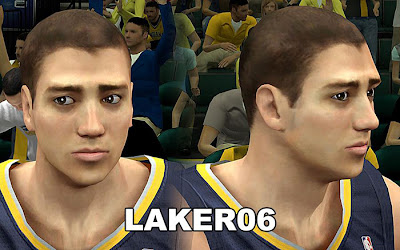 NBA 2K13 Tyler Hansbrough Cyberface Patch