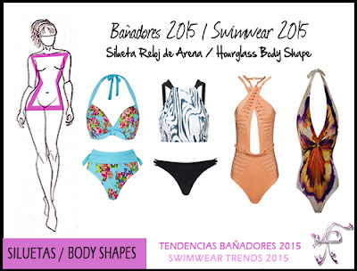 Swimwear Hourglass Shape