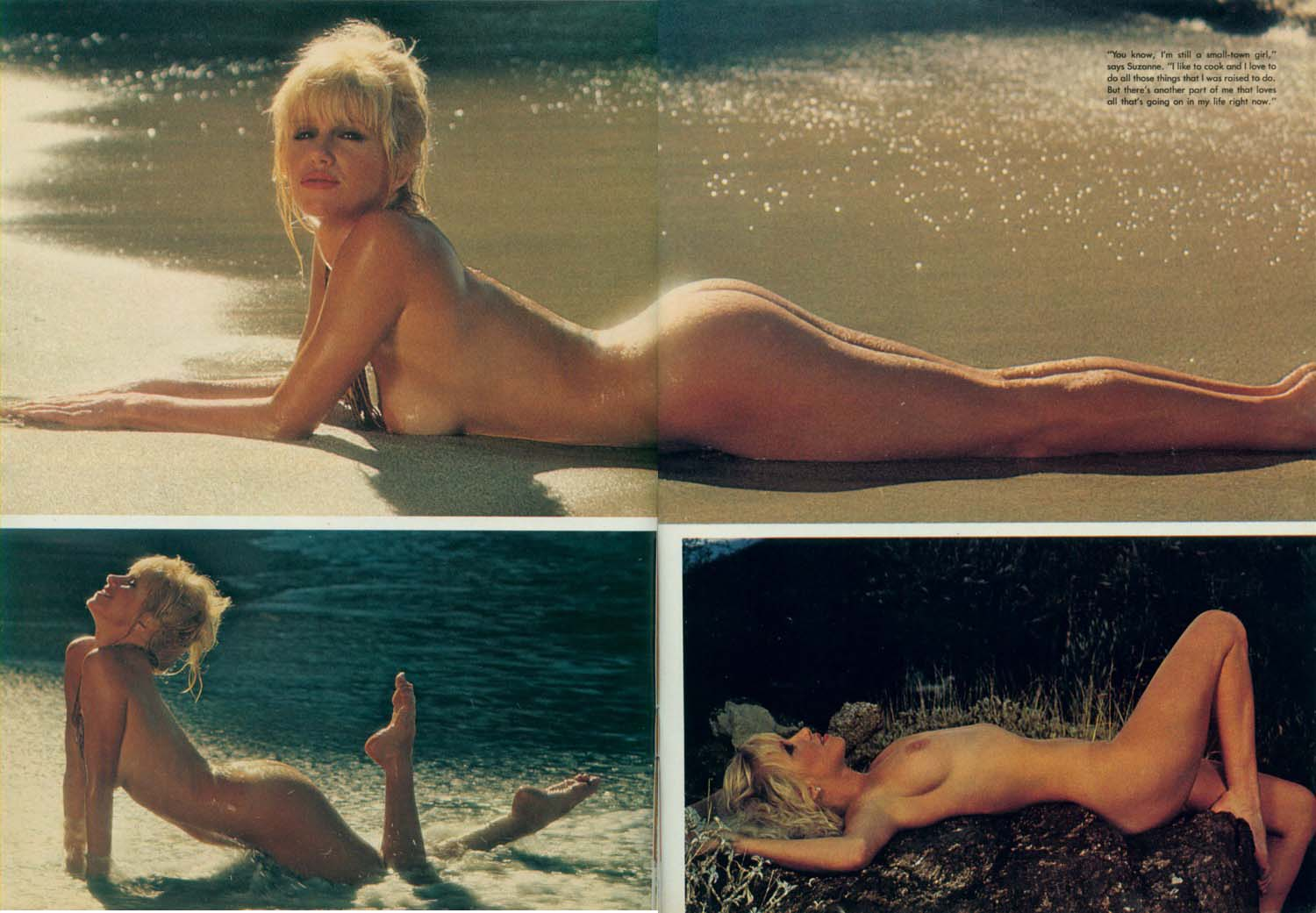 Suzanne Somers fotos modelo video desnuda Mayor