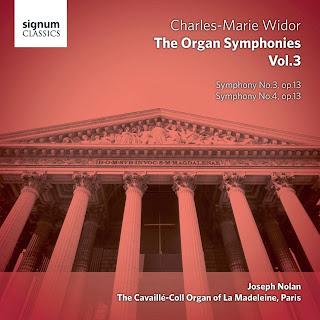 Widor Symphonies - volume 3, Joseph Nolan: SIGNUM
