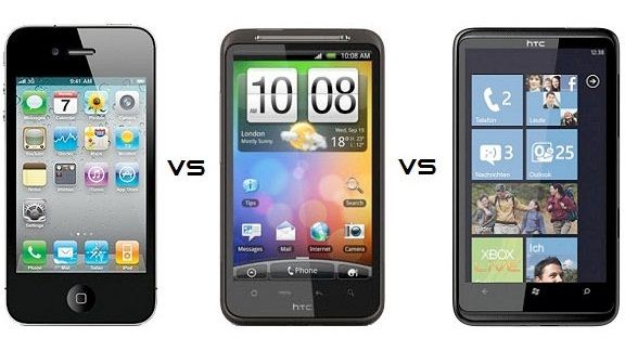 iPhone vs Android vs Windows