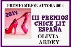 Premio Mejor Autora 2014