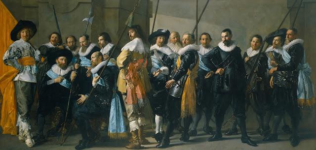 De Magere Compagnie, Baroque Portrait,Frans Hals