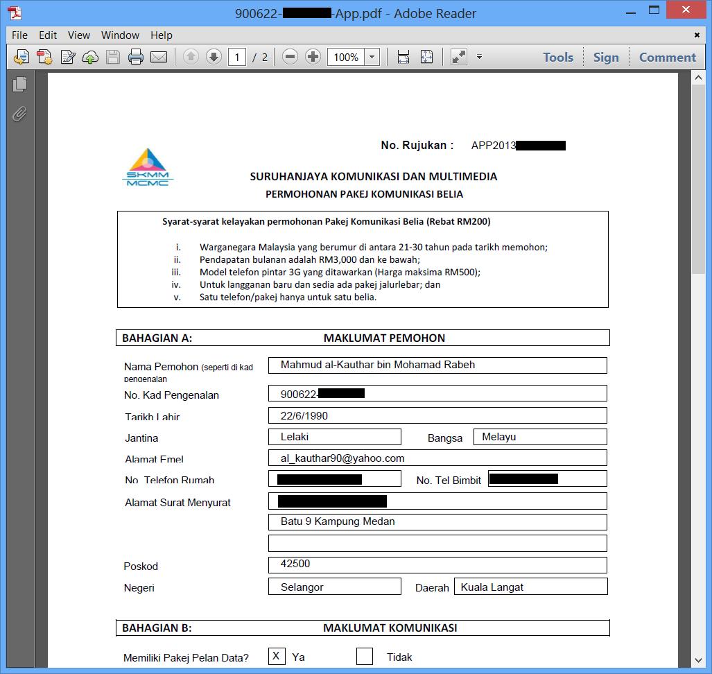 7.+Butiran+PDF Pendaftaran Pakej Komunikasi Belia   Rebat RM200 SKMM Di Buka Sekarang!