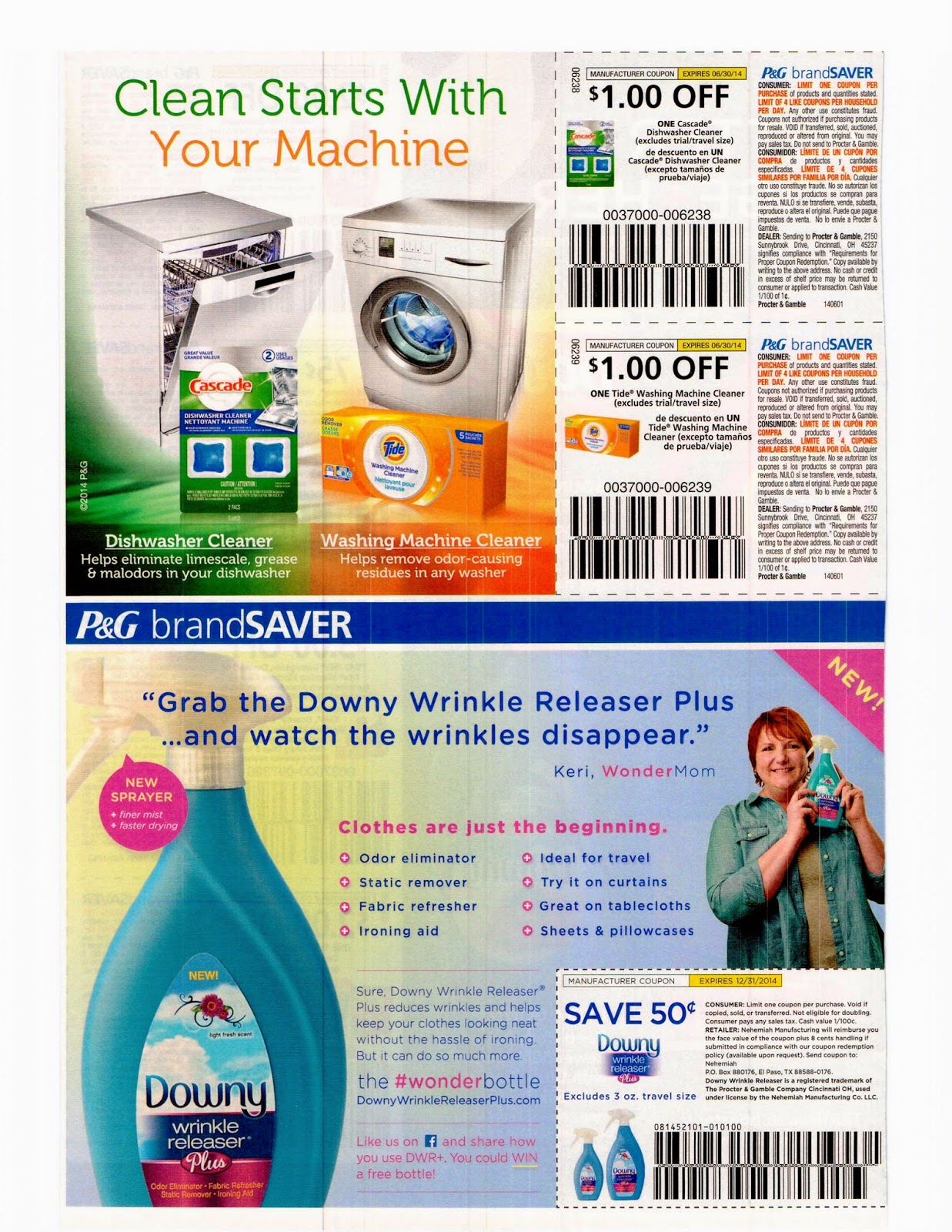 Proctor and gamble coupons